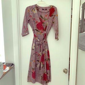 EUC TOV wrap dress